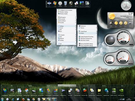 Capture d'écran Nexus Dock