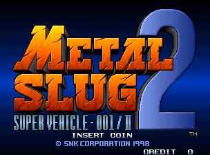 Capture d'écran Metal Slug 2: Super Vehicle