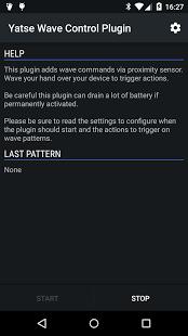Capture d'écran Yatse Wave Control Plugin
