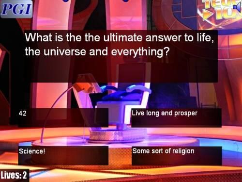 Capture d'écran The Impossible Quiz PGI