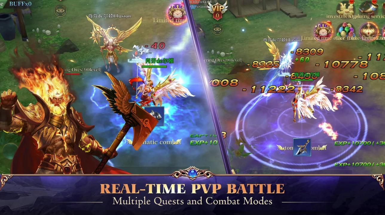 Capture d'écran Clash of Celestials Android