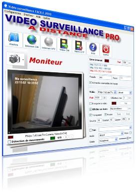 Capture d'écran Video surveillance PRO a distance