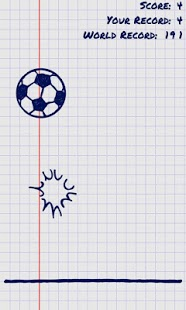 Capture d'écran Juggle the Doodle Free