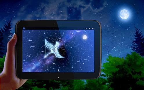 Capture d'écran Carte du Ciel Android