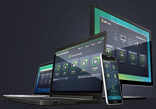 Capture d'écran AVG Protection Pro