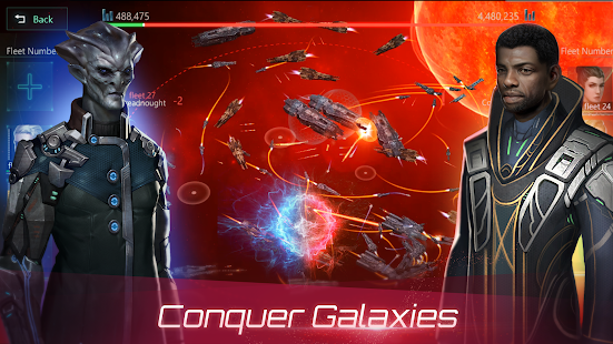 Capture d'écran Stellaris Galaxy Command Android