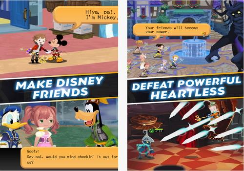 Capture d'écran Kingdom Hearts Unchained X Android