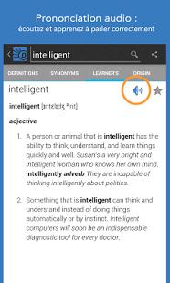 Capture d'écran Dictionary.com