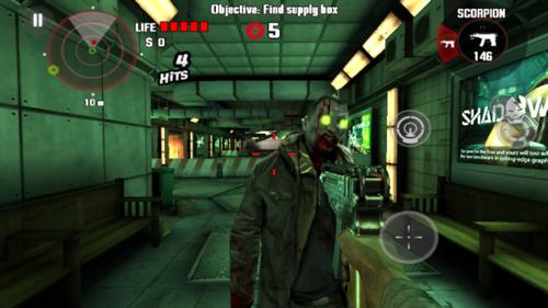 Capture d'écran Dead Trigger Android