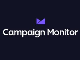 Capture d'écran Campaign Monitor
