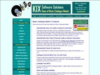 Capture d'écran Music Catalogue Master