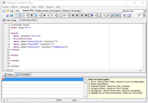 Capture d'écran TidExpress Lite