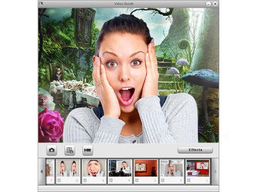 Capture d'écran Video Booth