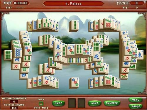 Capture d'écran Mahjong Escape