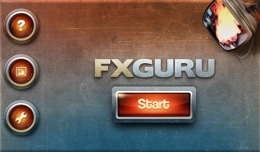 Capture d'écran FxGuru:  Movie FX Director