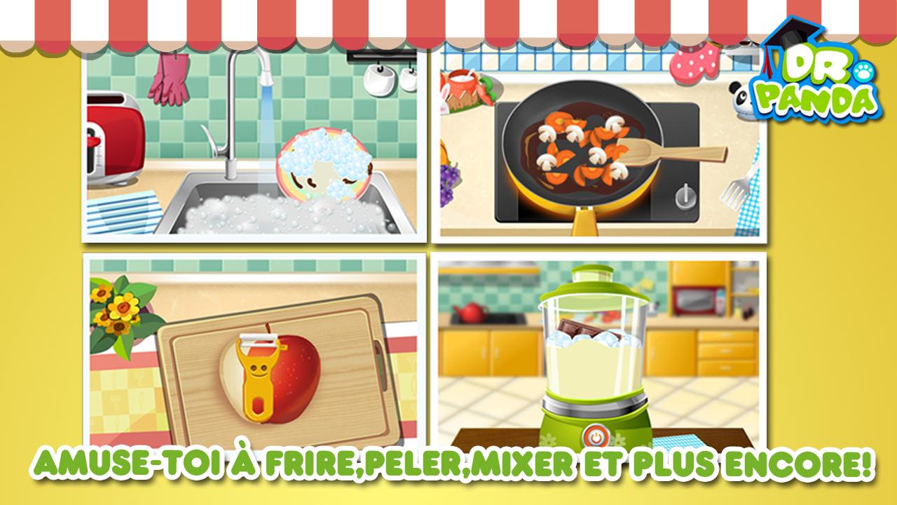 Capture d'écran Dr. Panda : Restaurant iOS