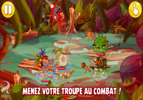 Capture d'écran Angry Birds Epic Android