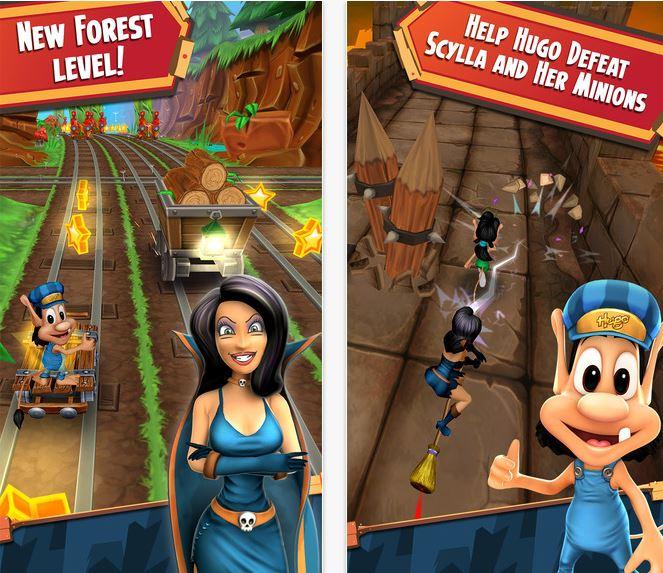 Capture d'écran Hugo Troll Race 2 iOS