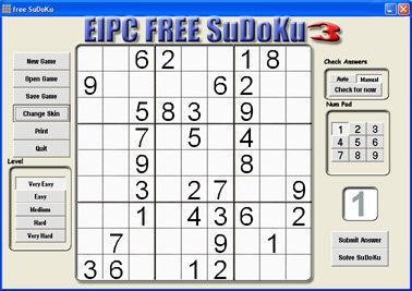 Capture d'écran free SuDoKu