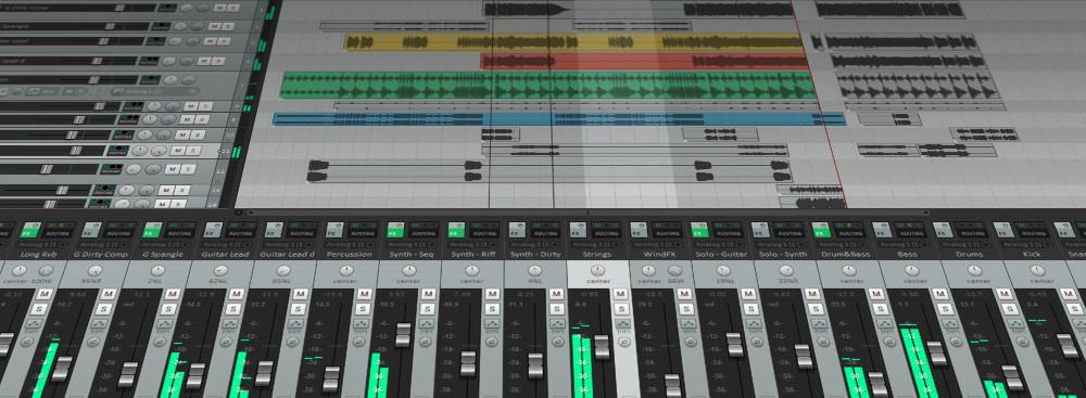 Capture d'écran Reaper Mac