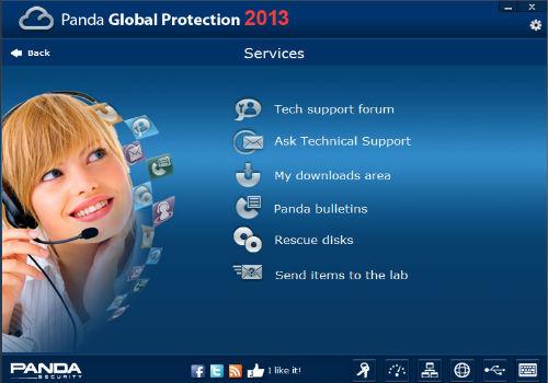 Capture d'écran Panda Global Protection 2013 BETA