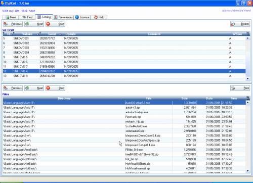 Capture d'écran DigiCat
