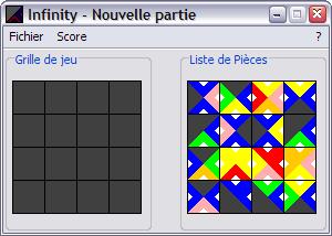 Capture d'écran Infinity