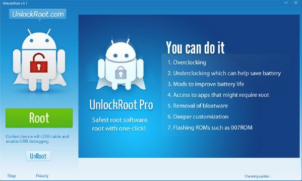 Capture d'écran Unlock Root