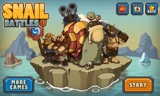 Capture d'écran Batailles Escargot – Snail