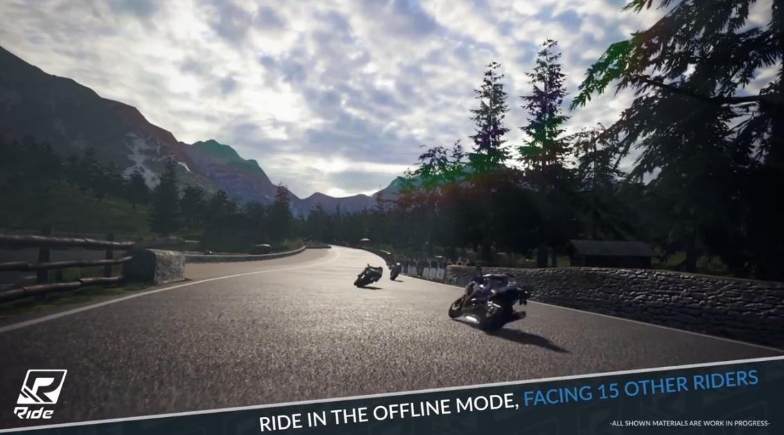 Capture d'écran Ride