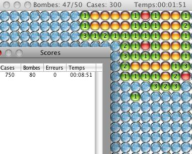 Capture d'écran Idemineur Linux