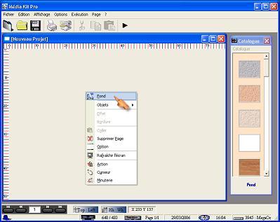 Capture d'écran Média Kit Pro