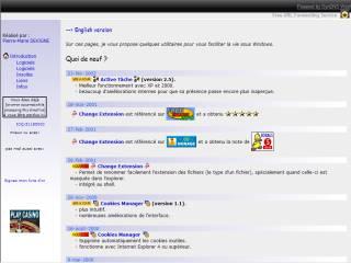 Capture d'écran Active Tâche