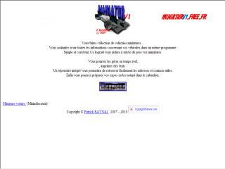 Capture d'écran MINIATURv1.4