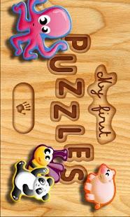 Capture d'écran Mes premiers puzzles