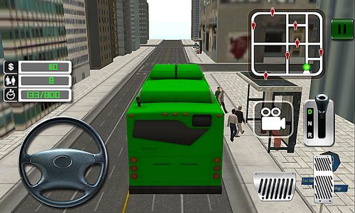 Capture d'écran Du Real Driving Simulator 3D