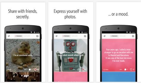 Capture d'écran Secret Android