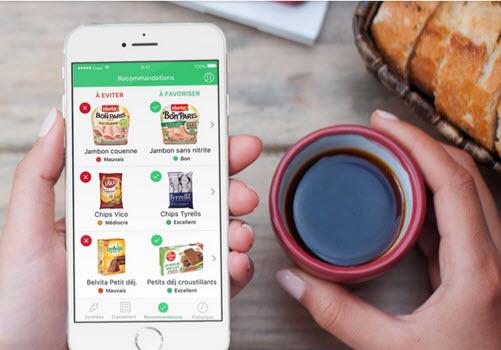 Capture d'écran Yuka – Scan de produits