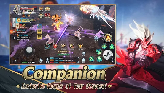 Capture d'écran Sword and Summoners IOS