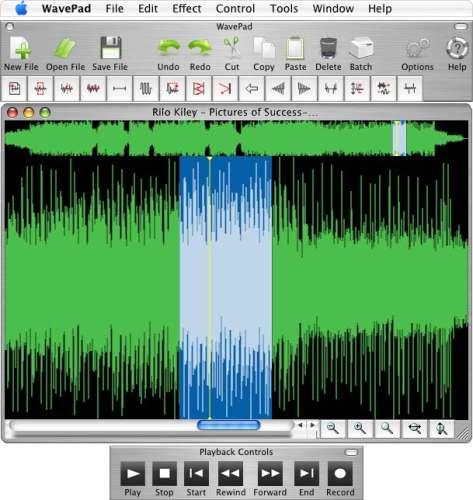 Capture d'écran Wavepad Audio Editor for Mac