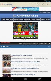 Capture d'écran Prensa de México