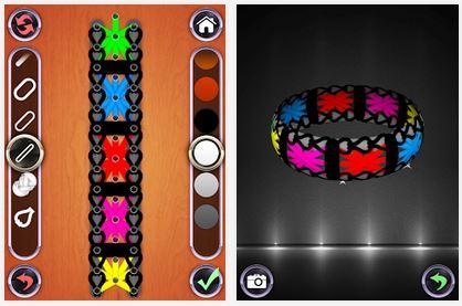 Capture d'écran Rainbow Loom Designer iOS