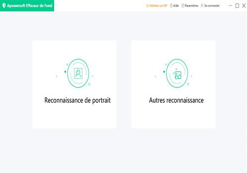 Capture d'écran Apowersoft Effaceur de fond