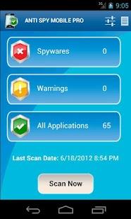 Capture d'écran Anti Mouchard Portable PRO