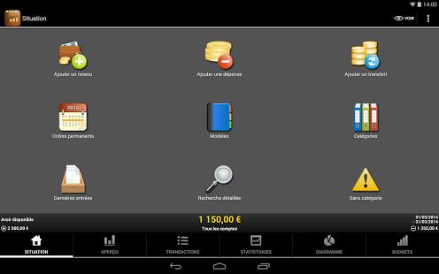 Capture d'écran My Budget Book (français)