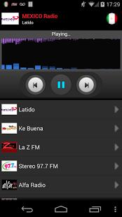 Capture d'écran RADIO MEXICO