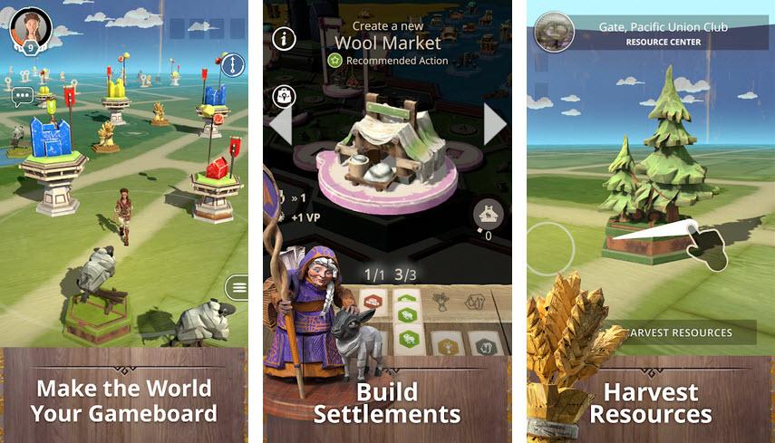 Capture d'écran Catan World Explorers Android