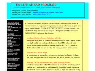 Capture d'écran Life Ahead Computer Program