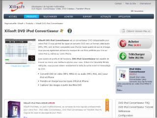 Capture d'écran Xilisoft DVD iPod Convertisseur 6