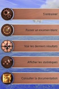 Capture d'écran Permis Côtier Premium
